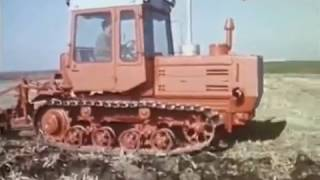 1987-й год. Трактор  Т - 153.  Сюжет программы