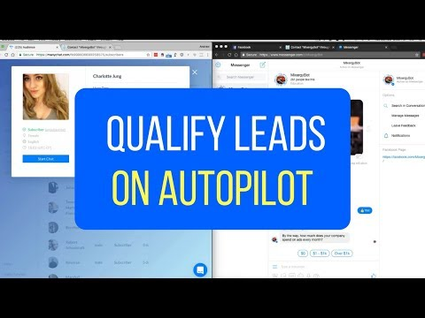 How To Qualify Leads On Autopilot With Facebook Messenger