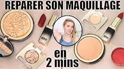 ASTUCE #1: REPARER son maquillage cassé en 2 mins: fards, poudre,  rouge à lèvres