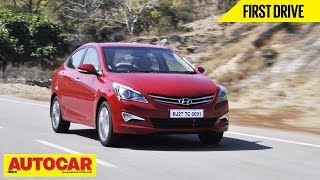 2015 Hyundai Verna | First Drive | Autocar India