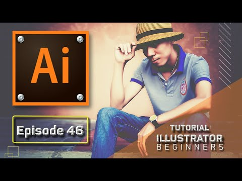 Bài 46 Các thuộc tính trong menu Object: Clipping Mask, Compound Path, Artboards | Illustrator 2020
