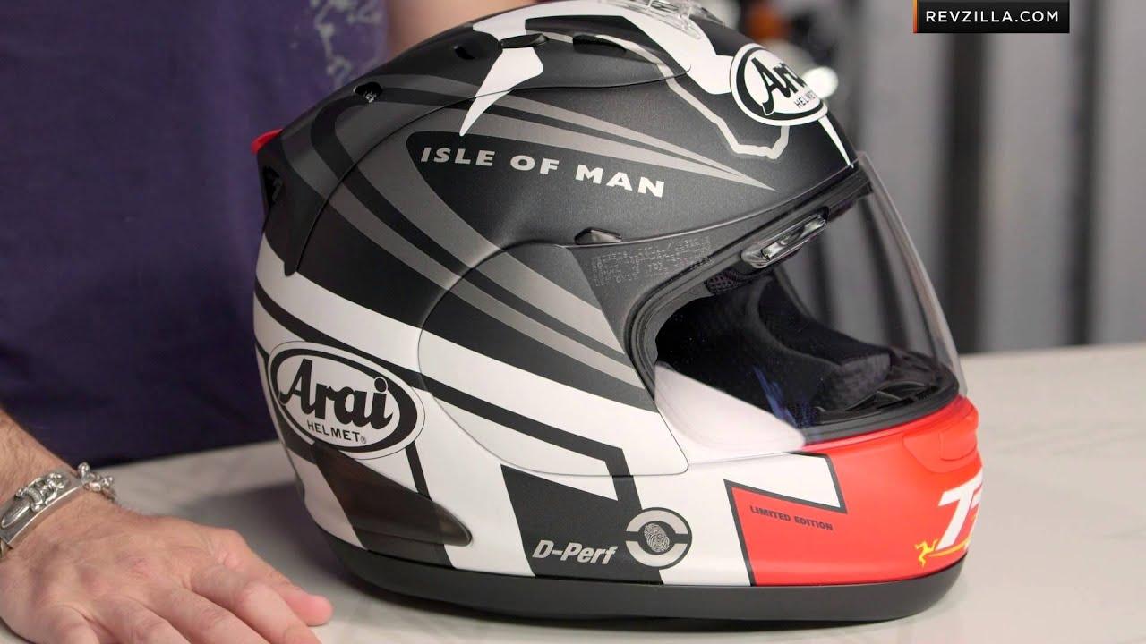 Arai Corsair V Isle Of Man Tt 2014 Le Helmet Review At