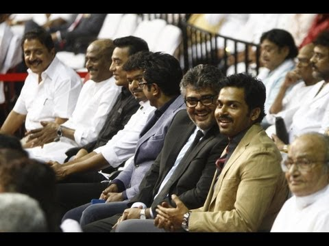'Mass Koodam' - Superstars Gathering | 100 years of Indian Cinema | Ajith | Vijay | Rajinikanth - BW Travel Video