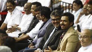 'Mass Koodam' - Superstars Gathering   100 years of Indian Cinema   Ajith   Vijay   Rajinikanth - BW
