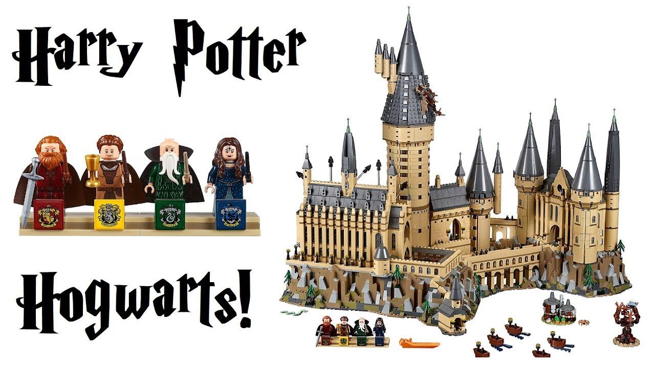 lego harry potter hogwarts castle preview set 71043 youtube. Black Bedroom Furniture Sets. Home Design Ideas