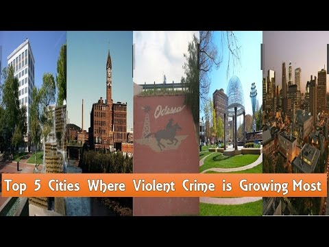 Top 5 Cities Where Violent Crime is Growing Most (You must know before visit there)