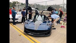 Đại gia mang PAGANI 100 TỶ đi CARS & COFFEE