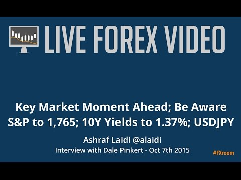 Ashraf Laidi: 10-Y yields to 1.37%; S&P targeting 1,765; USDJPY to 115.00