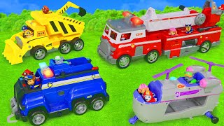 Paw Patrol Toy Vehicles: Excavator, Fire Truck, Police Cars & Garbage Trucks for Kids