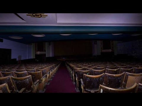 We went in the abandoned theater (HAUNTED)