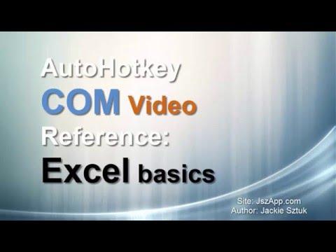 Basic Excel Code Example Autohotkey