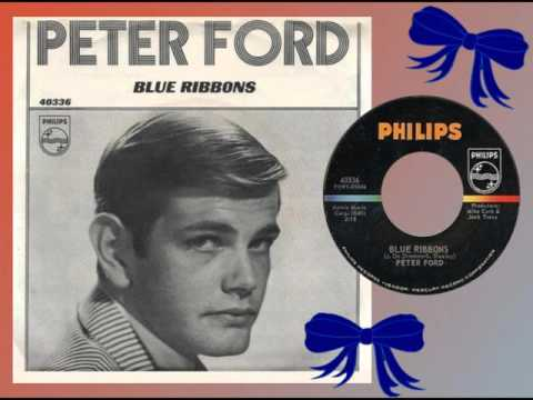 PETER FORD - Blue Ribbons (1965) With Girl Group Backing