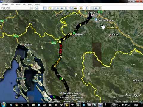 GPS to KML