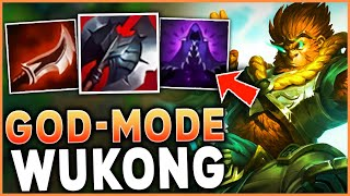 THIS IS WHAT PEAK WUKONG PERFORMANCE LOOKS LIKE (GOD-MODE ENGAGED) - League of Legends