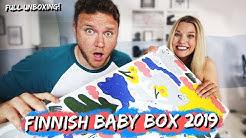 FINNISH BABY BOX UNBOXING   2019