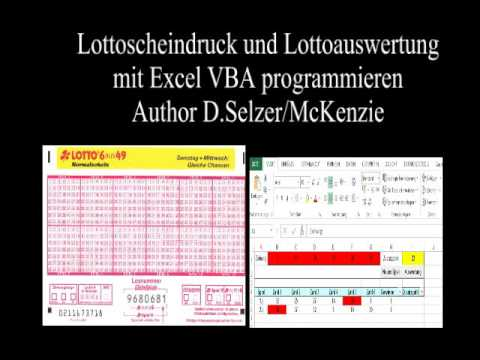 Lottozahlen Excel