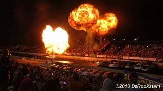Video Night Under Fire: Explosions, Jet Cars, Funny Cars, Jet Semi, Cars Flying in Air download MP3, 3GP, MP4, WEBM, AVI, FLV Januari 2018