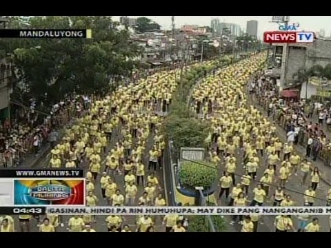 """BP: Mandaluyong City, nakuha ang Guinness """"World Record for Largest Zumba Class"""""""