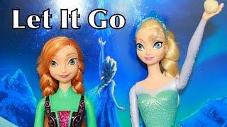 Let It Go Elsa Frozen Play-Doh Disney Princess Anna Arendelle Snowball Fight Castle Sven Reindeer