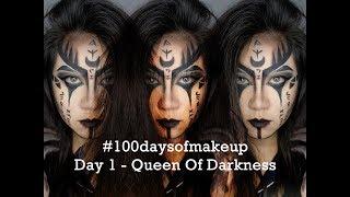 Goddess of Darkness Makeup Tutorial | Theodora Olivia