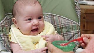 طعام الطفل فى الشهر الثالث