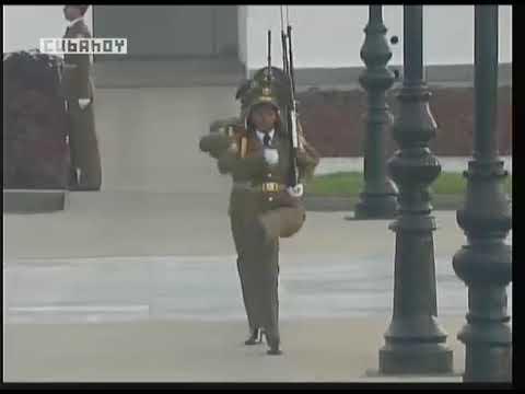 Acto político y ceremonia de inhumación de los restos de Carlos M. de Céspedes y Mariana Grajales