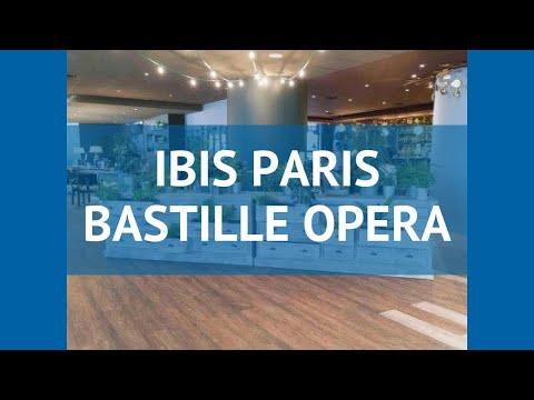 IBIS PARIS BASTILLE OPERA 2* Франция Париж обзор – отель ИБИС ПЭРИС БАСТИЛ ОПЕРА 2 Париж видео обзор