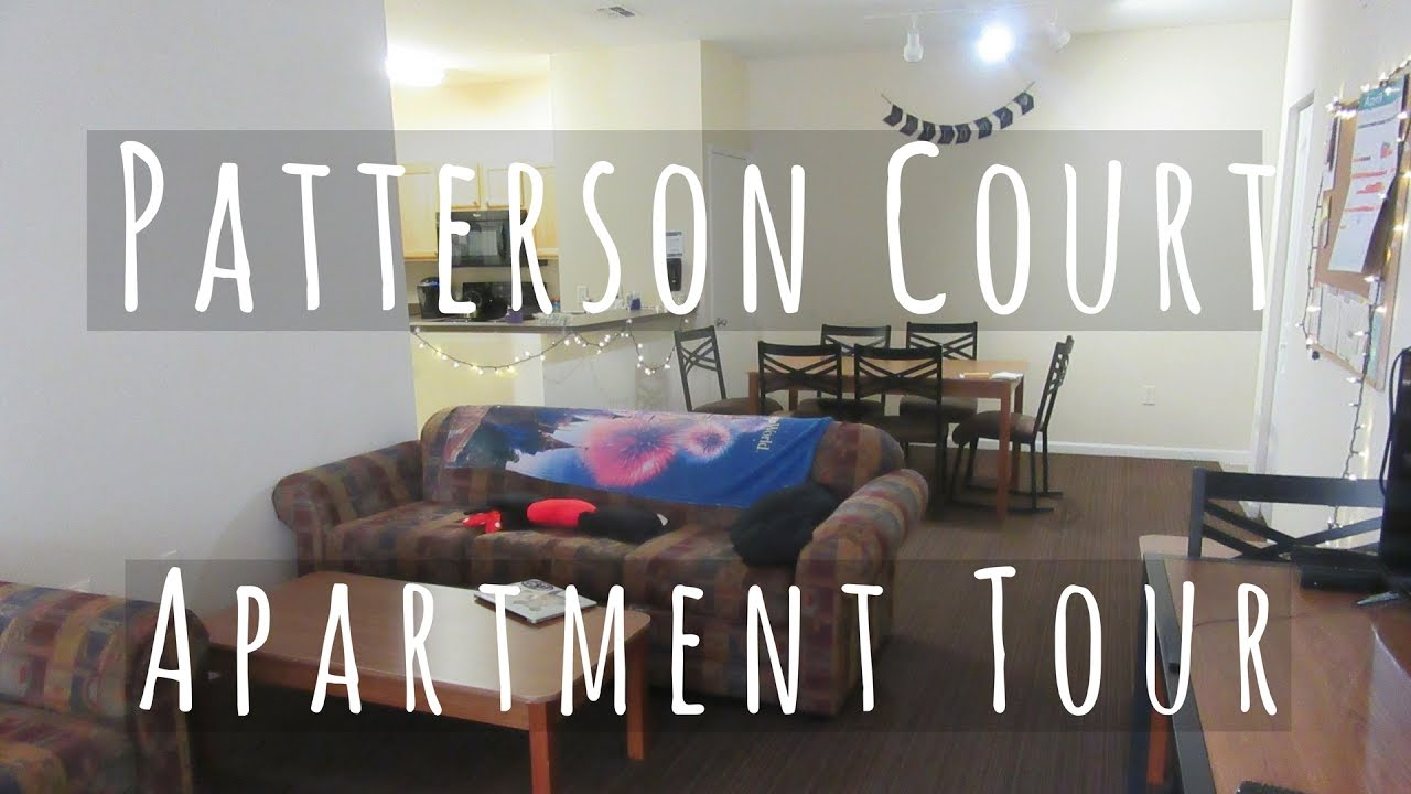 Patterson Court Apartment Tour 3 Bedroom 6 Person Disney College Program