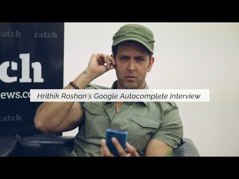 Hrithik Roshan Answers The Wackiest Google Autocomplete Questions