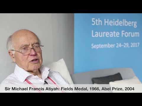 Laureate interviews at the 5th HLF: Sir Michael Francis Atiyah