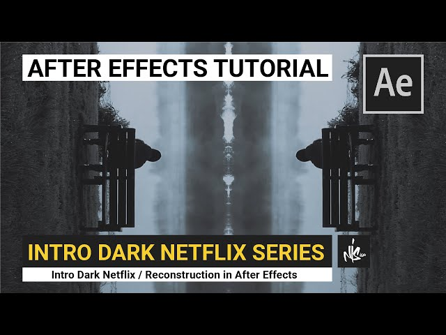 Opening Credits Dark Netflix (After Effects Tutorial 2021)