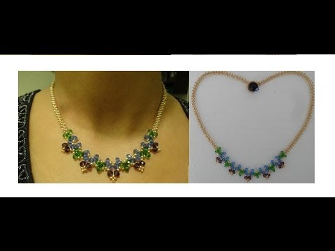 How to make necklace with just beads and thread