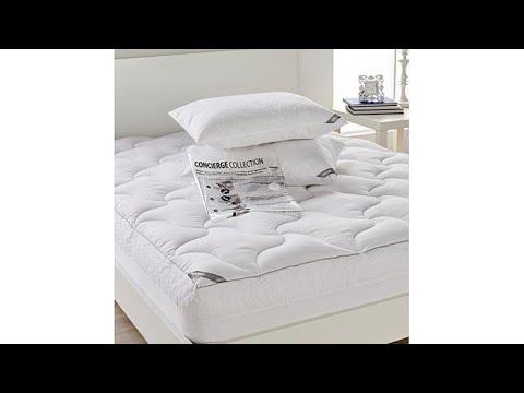 Concierge Rx Mattress Pad Pillows W/compression Bag