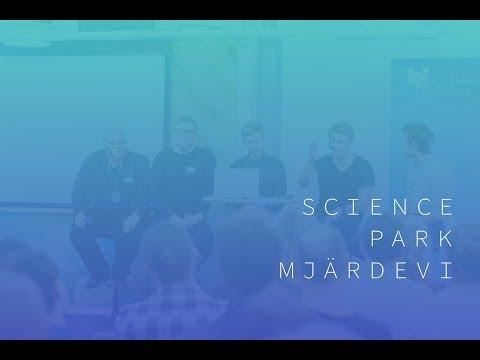 Blockchain meetup in Science Park Mjärdevi: Panel discussion