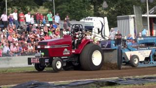 White Crow and Easy Rider crash @ Lochem Tractor Pulling 2015