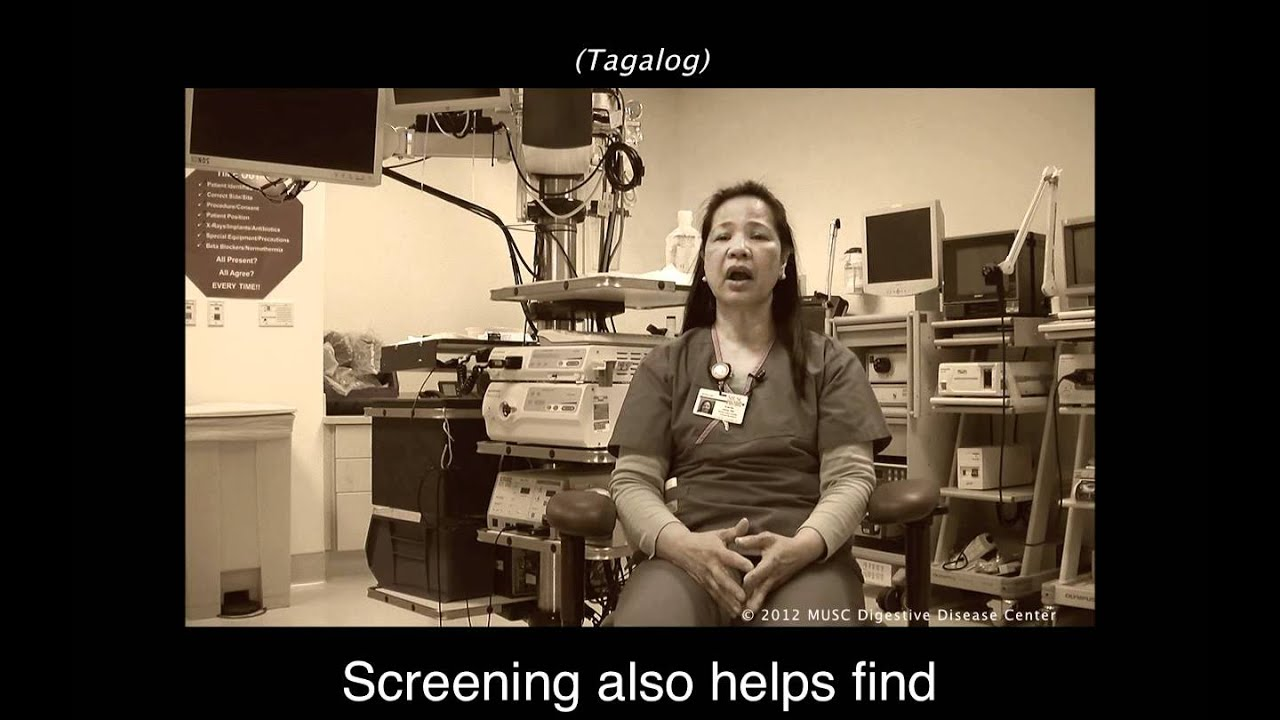 Colon Cancer The Same In Every Language Tagalog Youtube