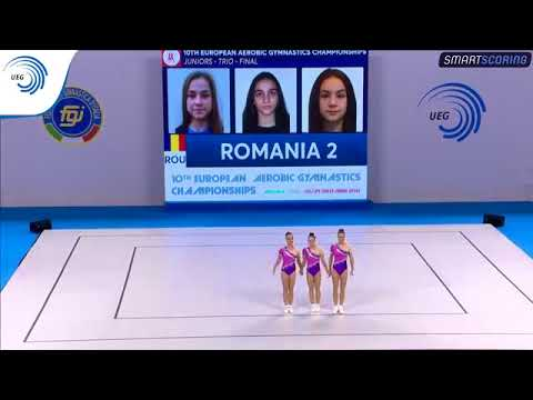REPLAY: 2017 Aerobics Europeans - Junior FINAL Trios, plus medal ceremony