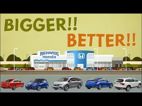 The New, Bigger, And Better Richards Honda Is Open Now!