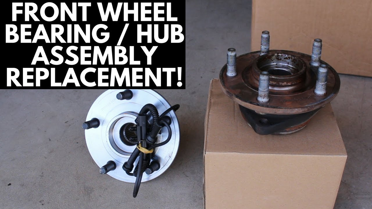 How To Replace Front Wheel Hub Assembly [Jeep JK]