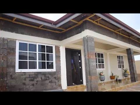 Take a Look at Ghana's First Plastic House