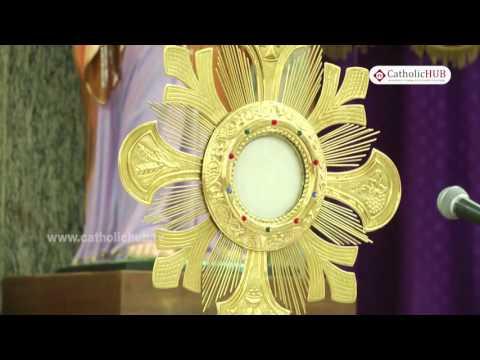 Adoration @ Sacred Heart Church, Richmonds Road, Bangalore, KA, INDIA,02 04 17