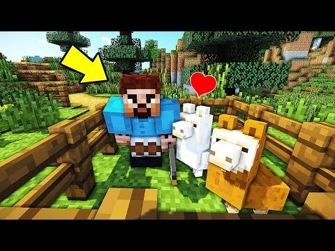 FAKİR LAMA EVCİLLEŞTİRİYOR !! 😱 - Minecraft