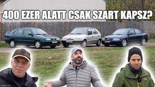 Válságautók: mit kapsz 400 ezer forint alatt? - Audi A4, Seat Toledo, Skoda Felicia