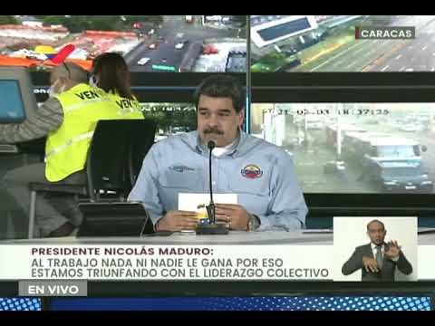Presidente Maduro anuncia que habrá flexibilización de la cuarentena durante carnavales 2021