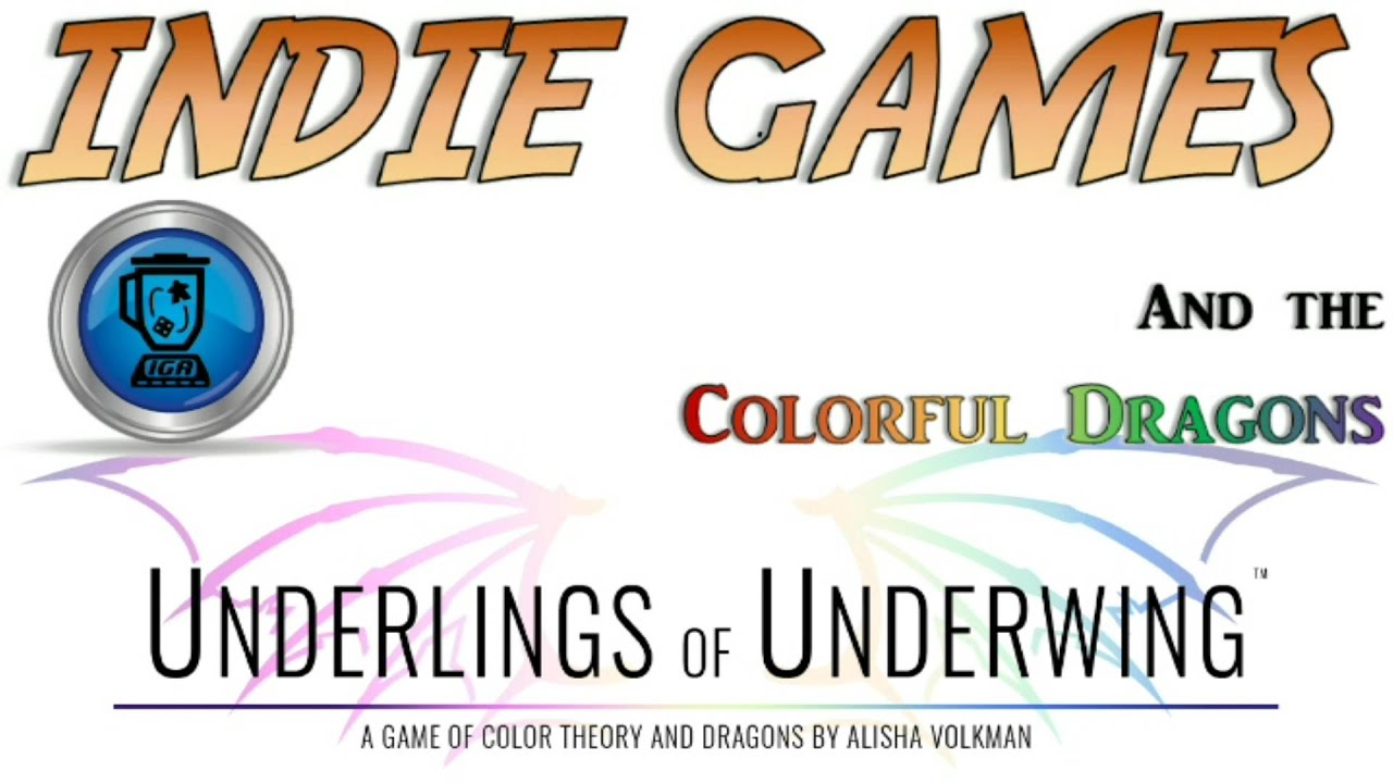 Game color theory - Underlings Of Underwing A Game Of Color Theory And Dragons By Kevin Ballestrini The Pericles Group Kickstarter