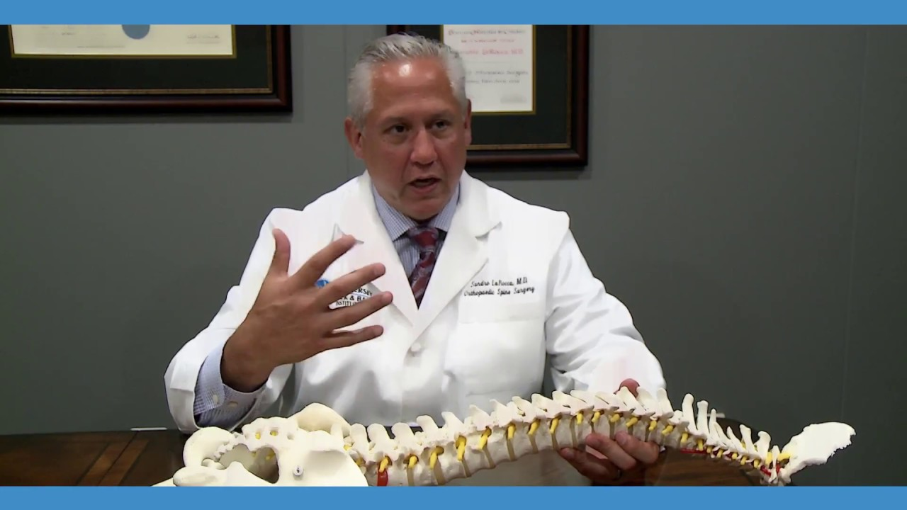 spinal surgeon Dr. Sandro LaRocca in NJ