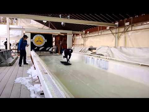 Anthony Watson - Skeleton sliding school 2013