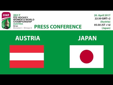 20.04.17 Austria - Japan Press Conference