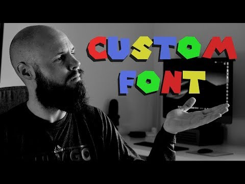 How to Import Custom Font - Xcode 10 - Swift 4.2