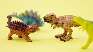 Learning Animals Names and Sounds for Kids - Part 8: Dinosaur Special